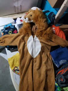 Costume lion 3- 4 ans