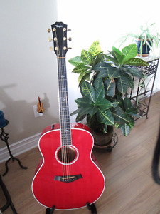 Taylor 618e Grand Orchestra Trans Red 2013