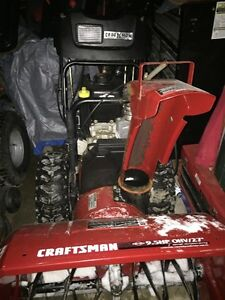 "Craftsman 27"" 9.5Hp Snowblower Works Great $600 OBO"