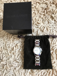 MICHAEL KORS WATCH AUTHENTIC SILVER