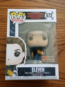 Stranger Things Funko Pop Television Chase Dart Eleven Boxlunch