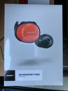 Brand New Sealed Bose SoundSport Free Orange