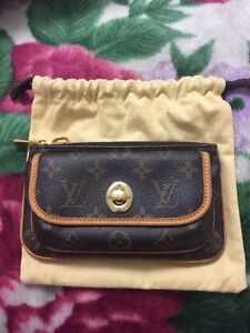 Authentic Louis Vuitton monogram Tikal pouch!!!