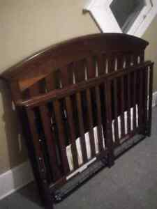 Delta Cherry wood baby crib