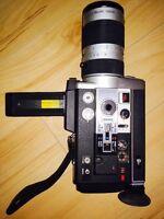 Caméra Super8 Canon AutoZoom 1014 et accessoires