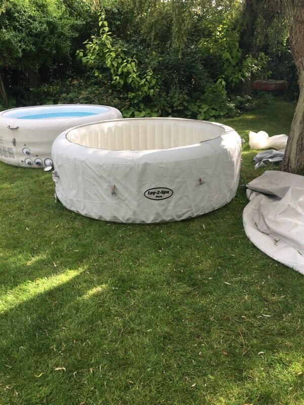 lay z spa paris hot tub led lights lazy spa in desborough northamptonshire gumtree. Black Bedroom Furniture Sets. Home Design Ideas