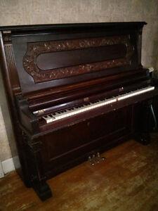 Piano.  Free.  Nordheimer Cabinet Grand. Kitchener / Waterloo Kitchener Area image 1