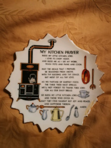 WANTED - Looking for My Kitchen Prayer