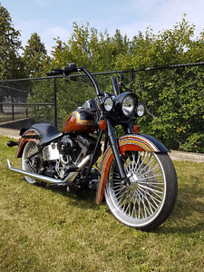 "23"" SOFTAIL CUSTOM  CHOLO STYLE $22,000"