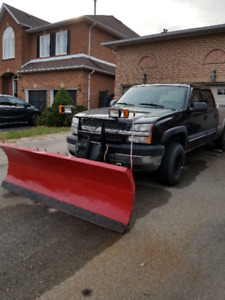 2004 Chevrolet Silverado 2500 Pickup Truck with plow