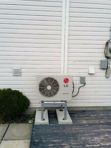 Mini-split heat pumps from LG, Samsung, Panasonic!
