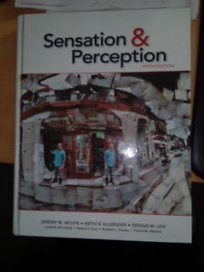 Sensation and Perception 5th Edition