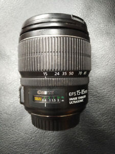 Canon EF-S 15-85 F3.5-5.6 IS Lens