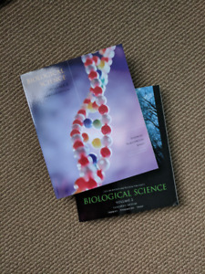 Biological Science Vol 1 & Vol 2 for Ryerson University