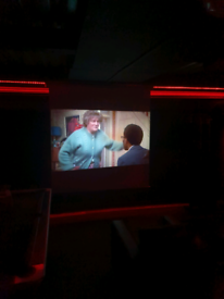 Projector screen over 6ft wide 100inch
