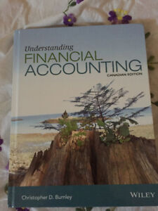 Understanding Financial Accounting Canadian Edition