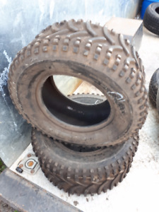 2  MUD BUSTER 25X10.00-12 ATV TIRES