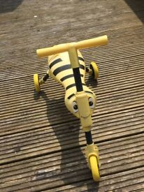 Scuttlebug Bumblebee Ride-On - Yellow and Black