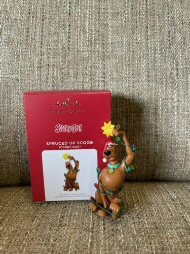 2021 Hallmark SPRUCED UP SCOOB Scooby-Doo Ornament *NIB* FREE SHIPPING IN US!!!