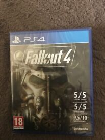 PS4 game Fallout 4 (sealed)