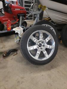 Cadillac Escalade Wheels and tires 2008-2012
