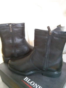 @ New Blondo Mickey leather boots size 9w 43