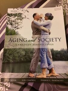 Aging and Society textbook Cambridge Kitchener Area image 1