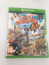 X Box one game- Sunset Overdrive