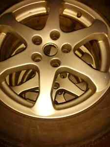 5x114.3 RIMS WITH TIRES 17 INCH..FULL SET $225 FIRM CAN DELIVER