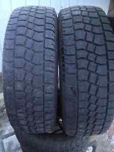 2 Avalunche winter tires 235//65/18