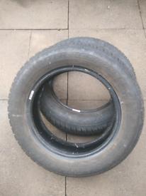 2x WANLI SNOWGRIP tyres 19565R1591T