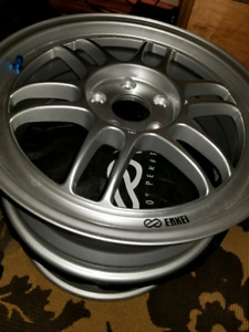 2 brand new 17x7 Enkei RPF1 wheels