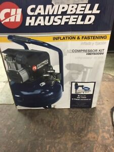 Campbell Hausfeld ield 6 gallon Air compressor kit