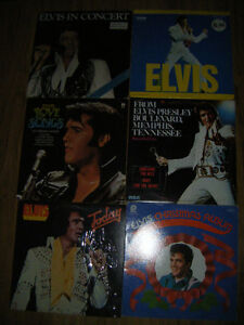 6 Collectible Elvis records for sale