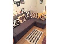 IKEA corner sofa - bed