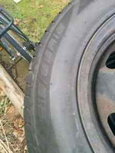 All Season Tires 215/65R16 on Steel Rims