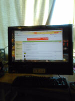 GATEWAY 23 INCH ALL IN ONE TOUCHSCREEN COMPUTER