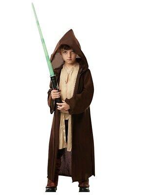 Kinder Deluxe Jedi Robe mit Kapuze Kostüm Buchwoche - Jedi Robe Kinder Kostüm