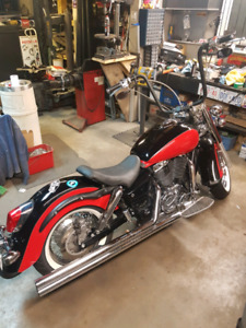 2000 honda shadow ace 1100cc