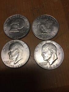 USA Eisenhower dollars