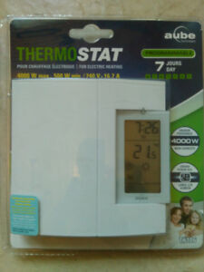 Thermostat programmable NEUF / NEW Programmable Thermostat: AUBE