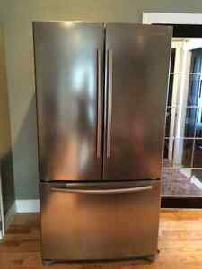 Samsung stainless 26cuft French door fridge