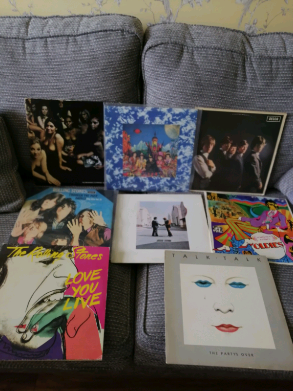 Classic Rock Vinyl Records x 8 Hendrix Stones Beatled | in Fulwood,  Lancashire | Gumtree