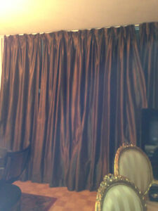 """Drapes 4 Panels- Fully Lined Back Tab Panel Size/Panel: 54 x 96"""""""