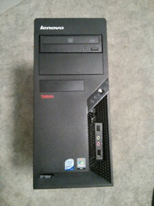 Intel Dual Core E8400 3.00Ghz 4GB Ram 320GB Lenovo Tower