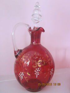Antique Cranberry Glass Private Collection for Sale Kitchener / Waterloo Kitchener Area image 3