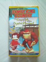 Donkey Kong - Legend of the Crystal Coconut Movie VHS