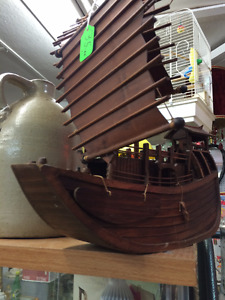 wooden Chinese Junk