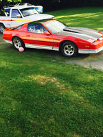 Pontiac Trans Am Manuel t-top