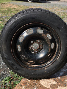 **New Price** 195/65R15 Hankook Winter Tires